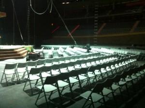 Sillas para el Circo del Sol 2013
