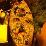 Barco de comida Oriental