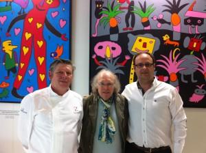Junto con Gustavo y Tomas Rotte en la ITB 2013