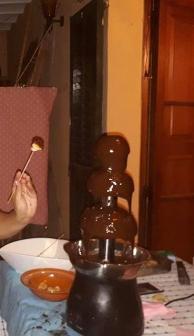 Fuente de chocolate 1